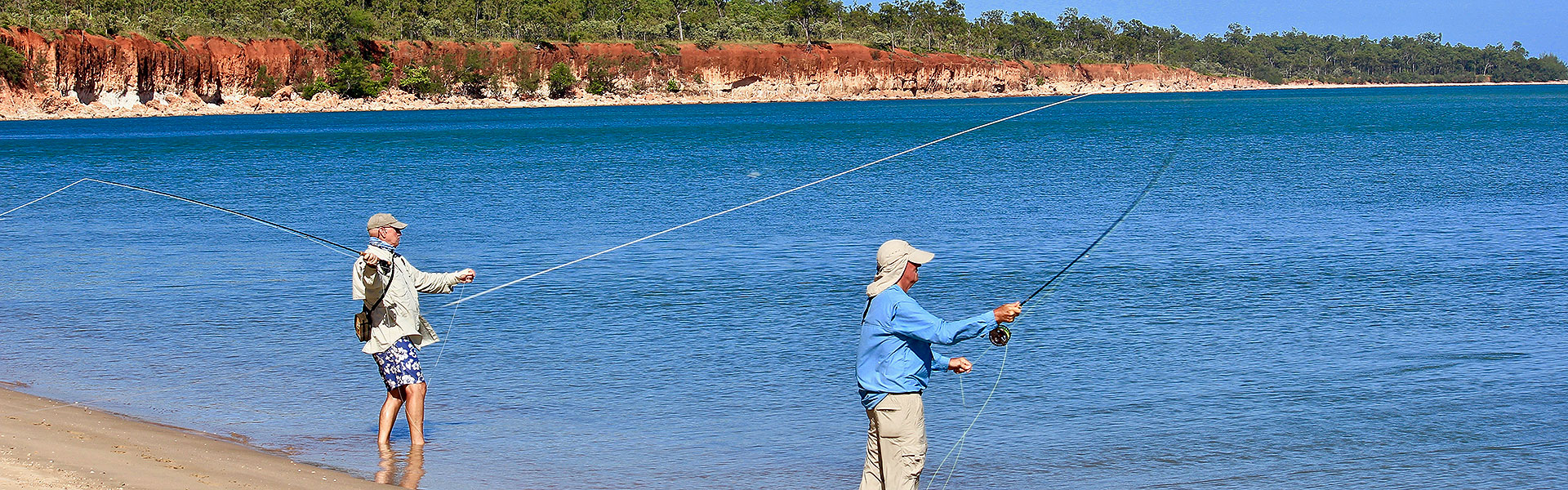 WEIPA FLY FISHING  <span>LET'S GET WILD</span>